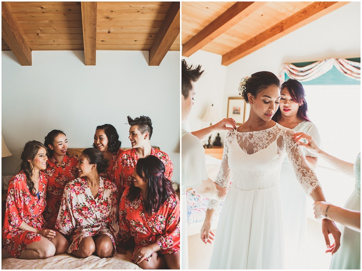Elaine And Fletchers Beautiful Flower Filled Outdoor California Wedding By Inner Song