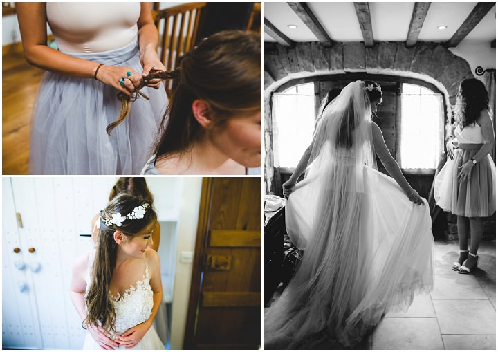 Beth and Mikey's Fun Filled Rainy Tipi Wedding in The Lake District by Livvy Hukins