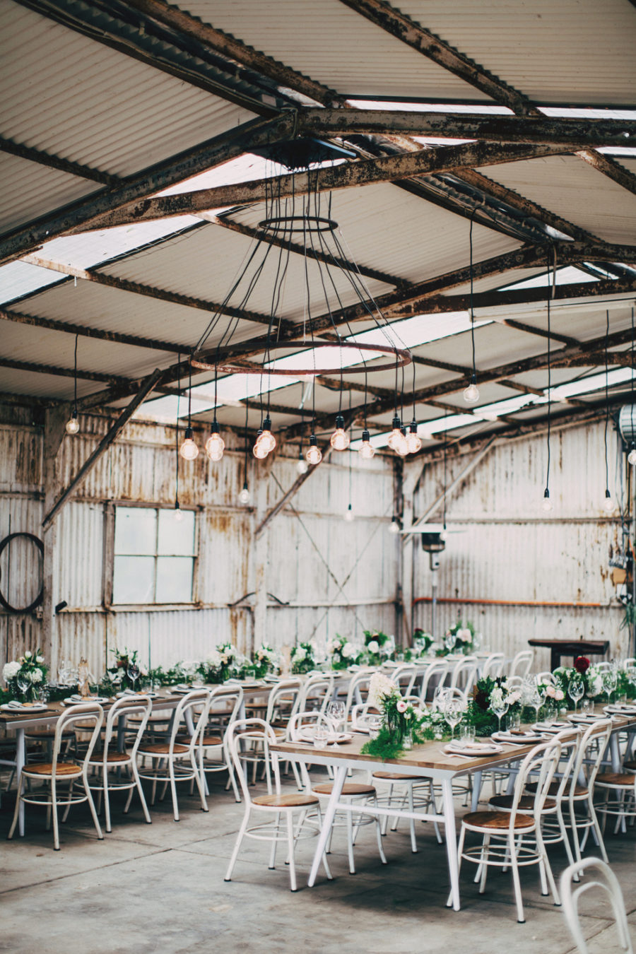Boho Pins: Top 10 Pins of the Week - Industrial and Warehouse Weddings