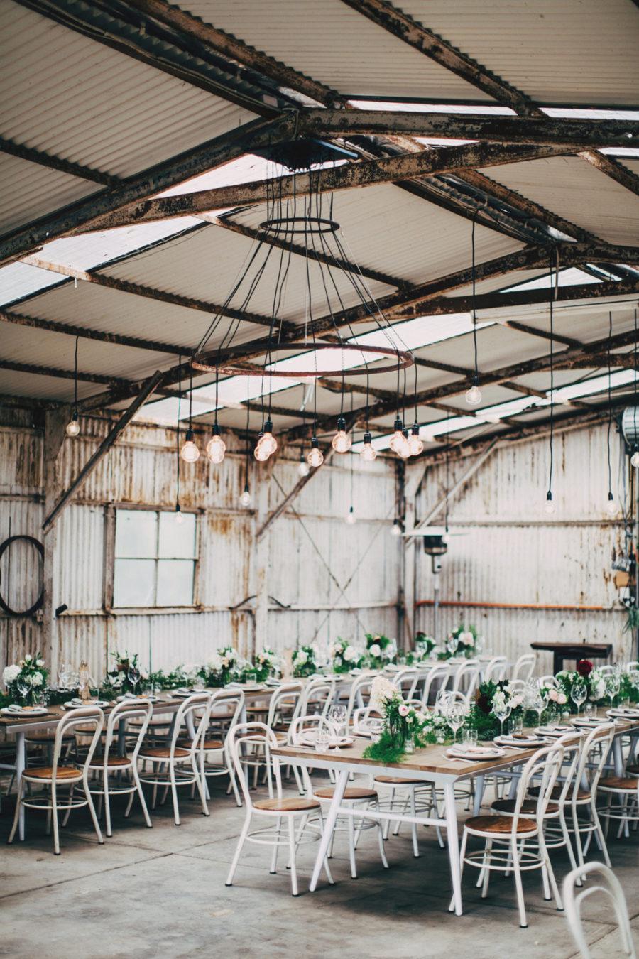 Boho Pins: Top 10 Pins of the Week - Industrial and Warehouse Weddings