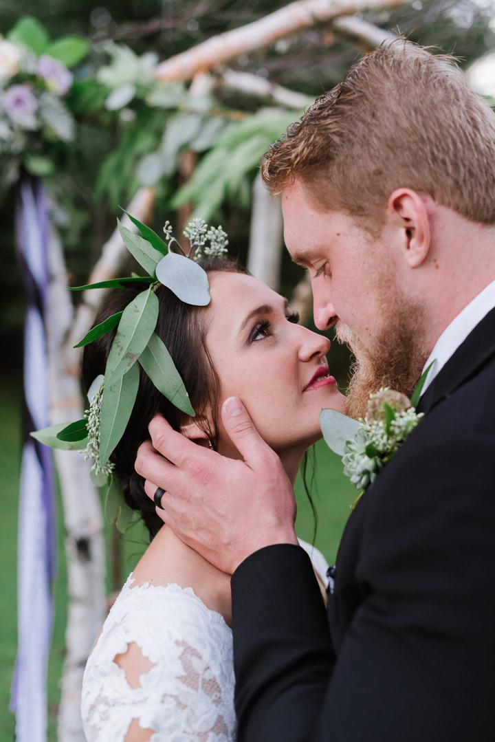 Amanda and Graham's Rainy Outdoor Woodland Themed Wedding by Beth ...