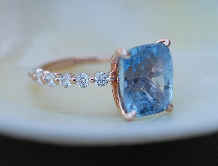 Boho Loves: The New Line of Eidelprecious Sapphire Engagement Rings