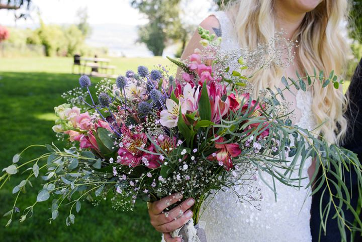 Beautiful Boho Themed Wedding in British Columbia by FunkyTown Photography