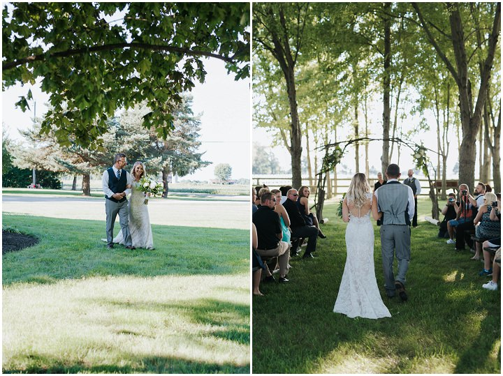 Rustic Handmade Backyard Wedding by Coley & Co Photography