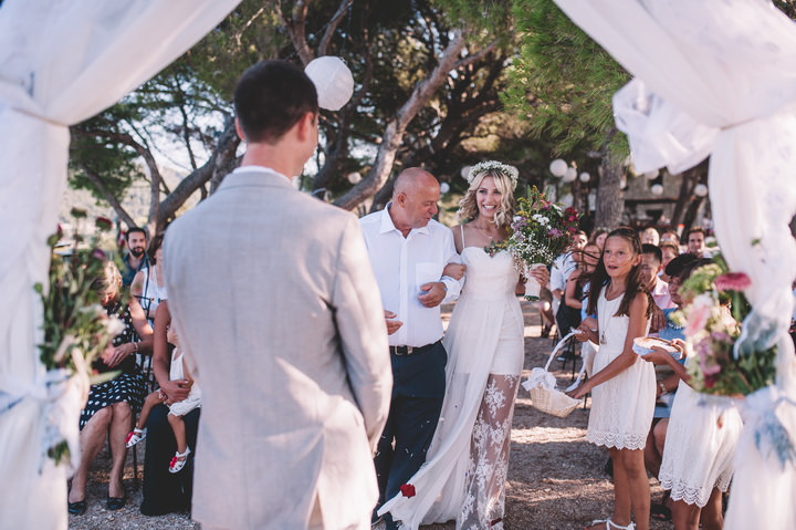 Fatime and Richard's Beautiful Bohemian Outdoor Wedding in Croatia by One Day Studio