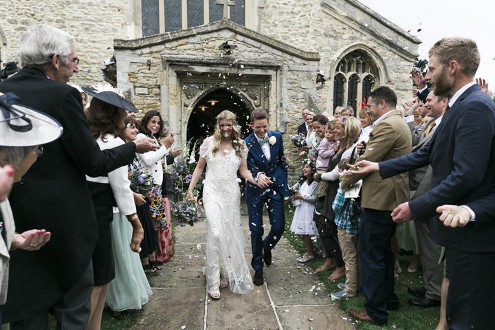 Handmade Mint Green Wedding With a Jenny Packham Dress by Photography by Krishanthi