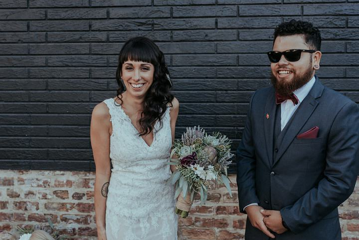 Gritty Chicago City Wedding by Roni Rose Photography