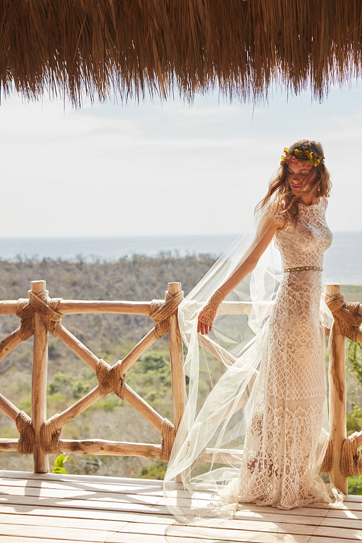 Bridal Style: The New Spirited Collection from BHLDN Perfect for the Bohemian Festival Bride