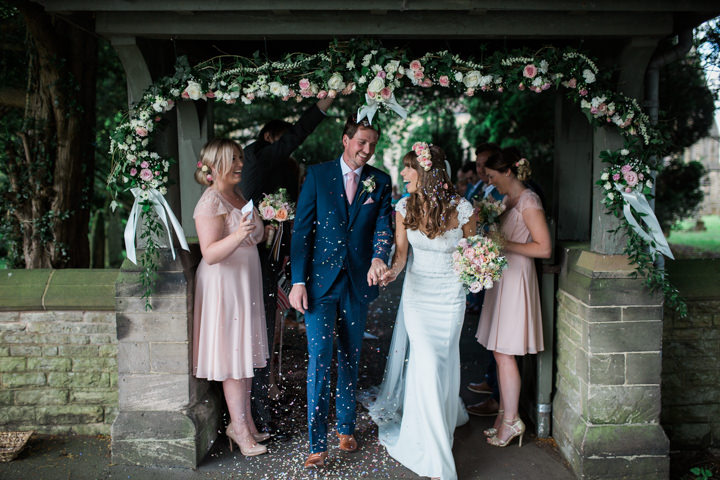 Relaxed Summer Garden Party Wedding in Cheshire by Amanda Balmain