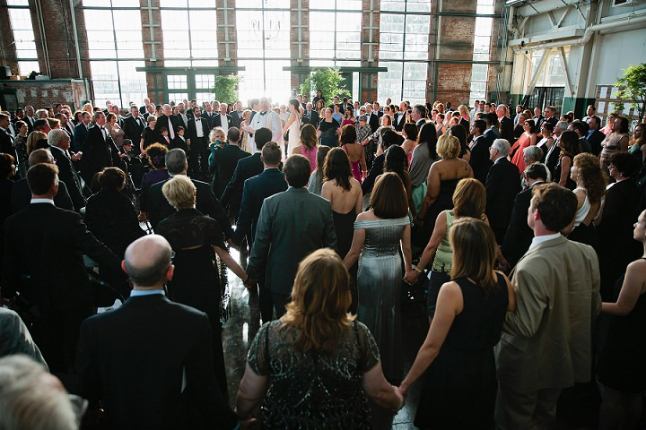 California Warehouse Wedding with 400 Guests by Alison Yin