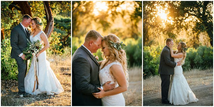 Vintage Bohemian Mountaintop Wedding in California by Hannah Kate Photography
