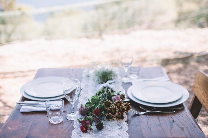 Beautiful Bohemian Outdoor Wedding in Croatia by One Day Studio
