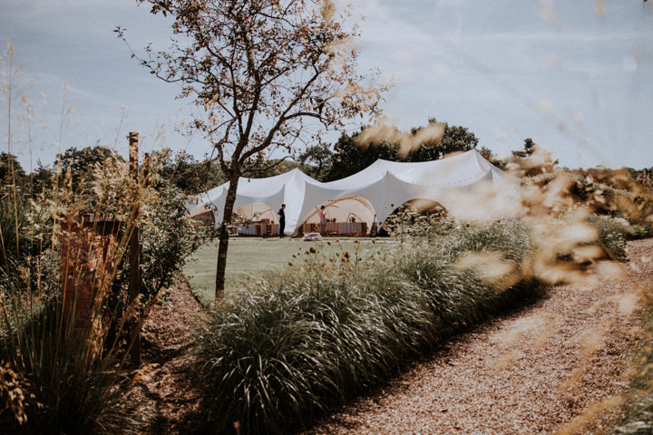 Gold and Cream Handmade Outdoor Wedding in Berkshire by Oxi Photography
