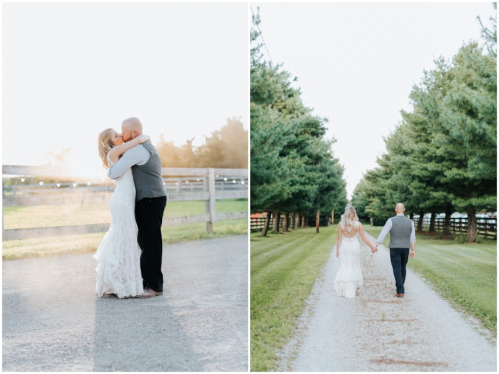 Kendall and Jeremy's Rustic Handmade Backyard Wedding by Coley & Co Photography