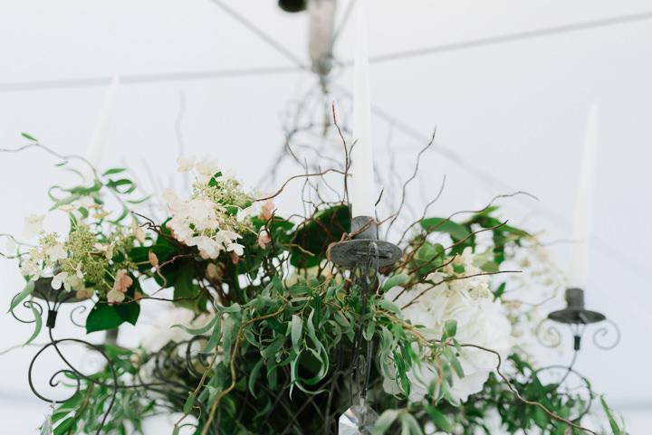 Rainy Outdoor Woodland Themed Wedding by Beth Joy Photos