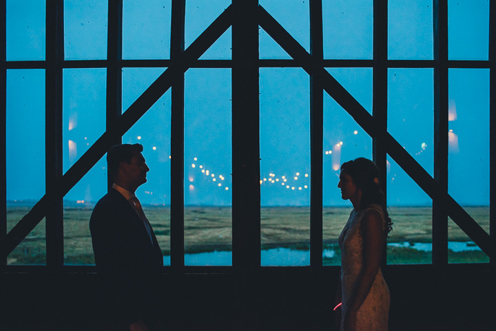 Homemade Barn Wedding in Kent by Nicola Thompson, with a nude and pale blue colour scheme.