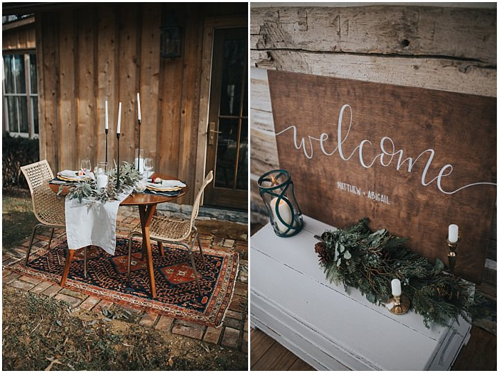 Cosy Cabin Boho Wedding Inspiration with Rustic Details and Bright Blooms
