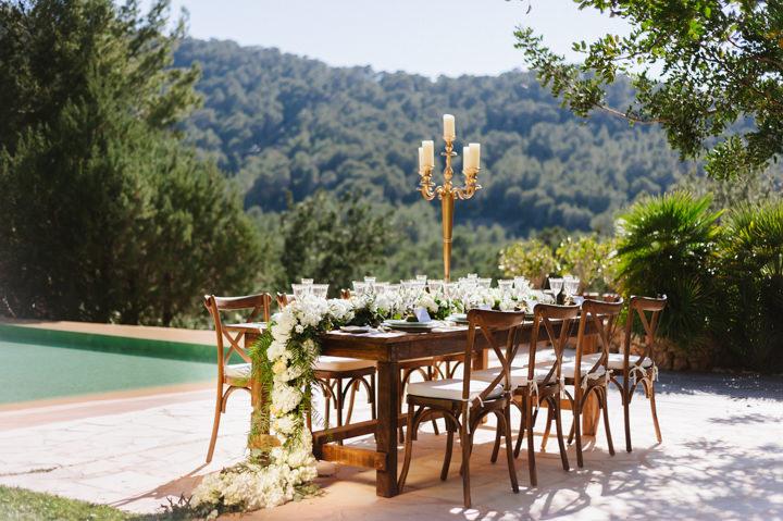 Elegant and Classic Bohemian Ibizan Inspiration