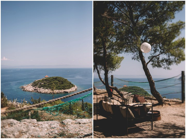 Beautiful Bohemian Outdoor Wedding in Croatia by One Day Studio