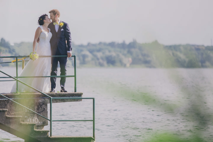 Alice and Marco's Brilliant Blue and Yellow Italian Wedding by Samanta Tamborini