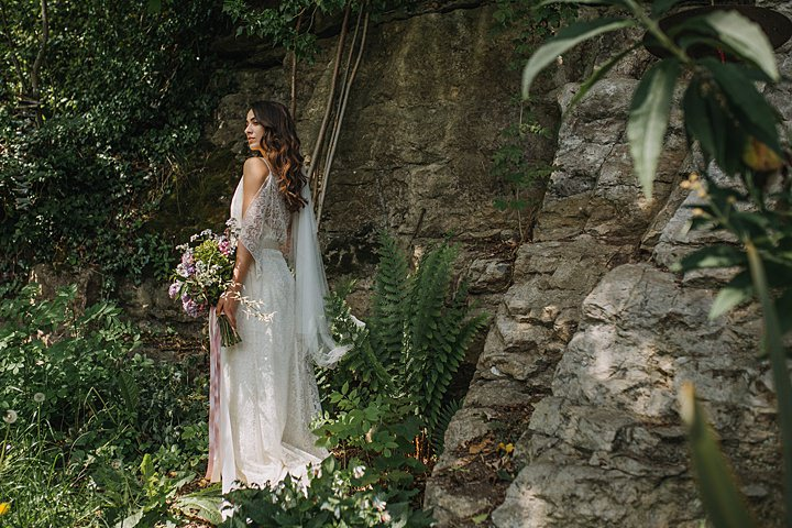 The Secret Garden: A Bridal Inspiration Shoot Brimming with British Blooms
