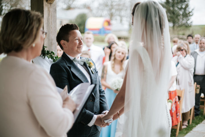 Lianne and Rachel's Romantic Handmade Outdoor Cornish Wedding by Christian Michael Photography