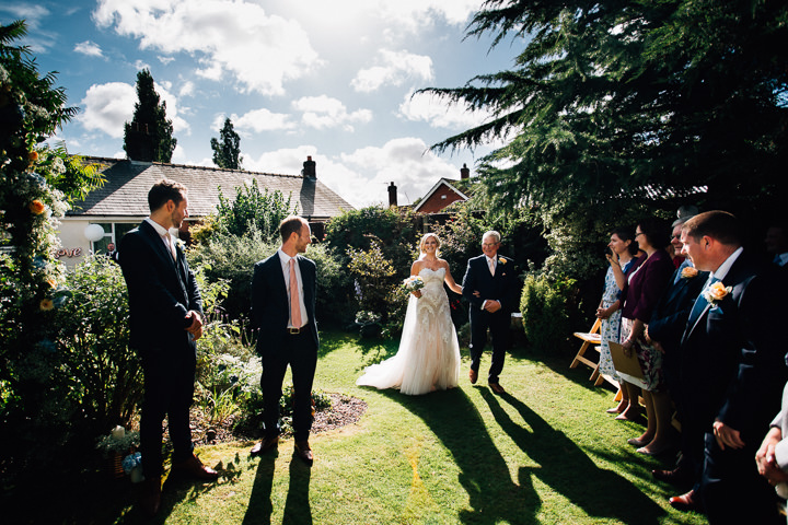 DIY Wedding in Nanas Garden, All Planned in 9 Weeks by Fairclough Photography