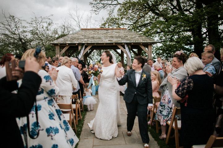 Romantic Handmade Outdoor Cornish Wedding by Christian Michael Photography