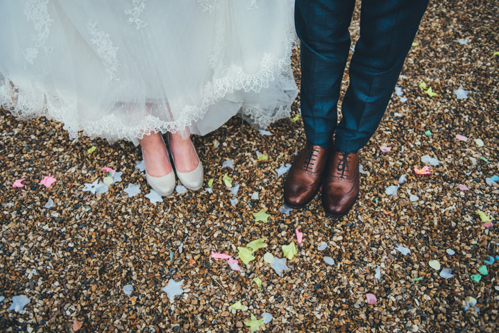 Francesca And Richard S Pretty Pastel Vintage Inspired: Sophie And David's Pretty Pastel Country Barn Wedding In