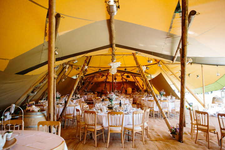 Sunny Summer Handmade Tipi Wedding by Poppy K Photography