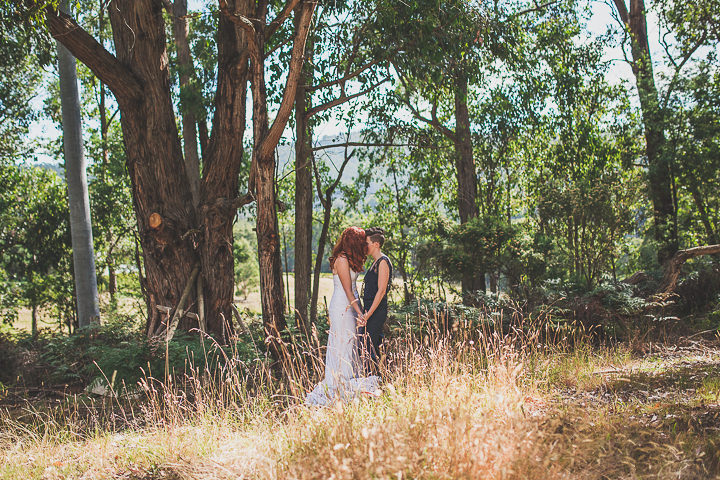Simple and Natural Laid Back Australian Log Cabin Wedding by Pixie Rouge Photography