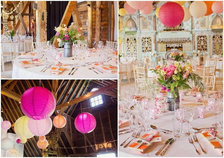 Pink and Orange Extravaganza at Preston Court by Cotton Candy Photography