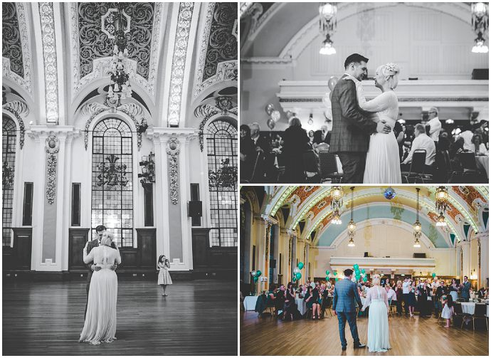 'Informal Vintage' Emerald Green Music Themed Wedding by Rachel Joyce Photography