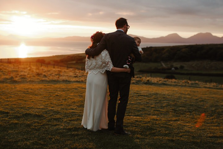 Handmade Autumnal Scottish Beach Wedding by The Curries