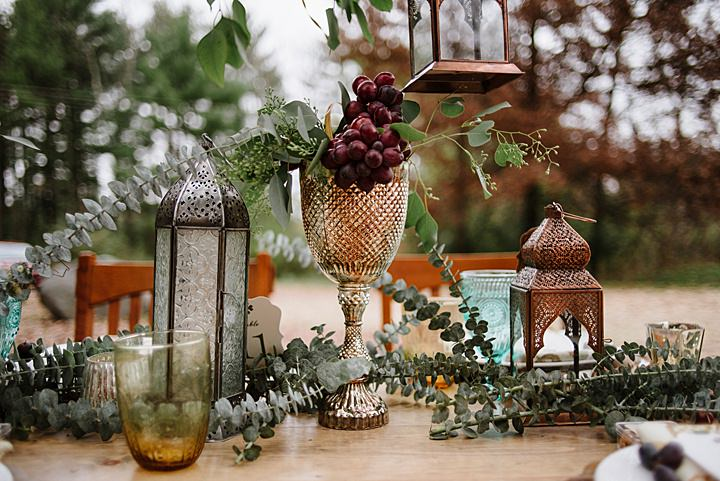 Moroccan Inspired Outdoor Autumn Shoot by Tara Draper Photography