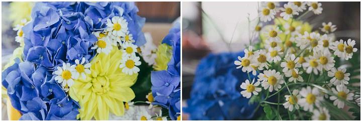 Brilliant Blue and Yellow Italian Wedding by Samanta Tamborini