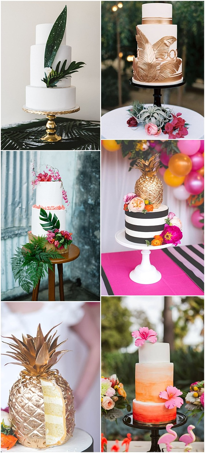 Ideas and Inspiration for your Boho Tropical Theme Wedding