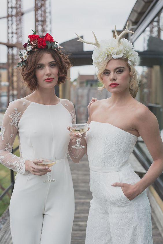 Boho Pins: Top 10 Pins of the Week - Wedding Jumpsuits