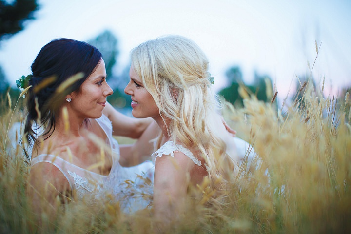Ashlee and Kate's Heartfelt Bohemian Country Wedding in Australia by Veri Photography