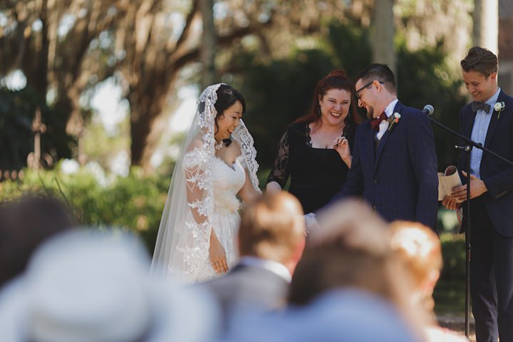 Vintage Inspired Blush and Gold Florida Wedding by Stacy Paul Photography