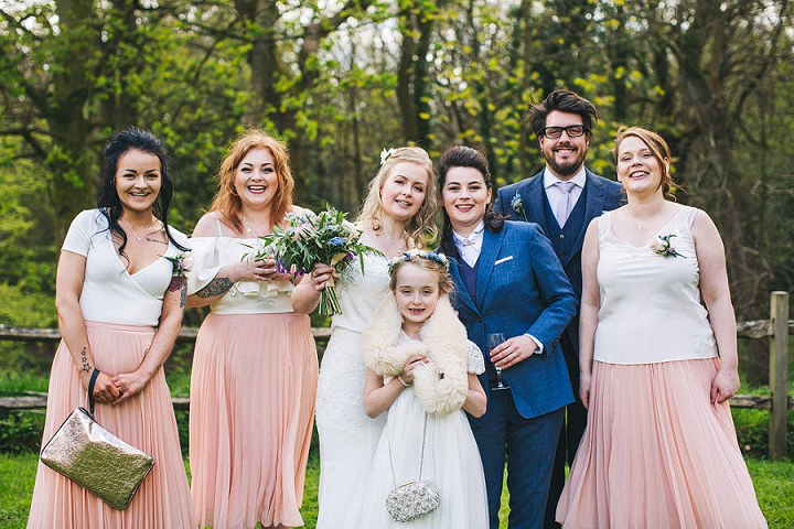 Pastel and Gold Handmade Sheffield Wedding by S6 Photography