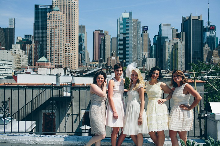 New York Yacht Wedding with an amazing skyline by LJM Photography
