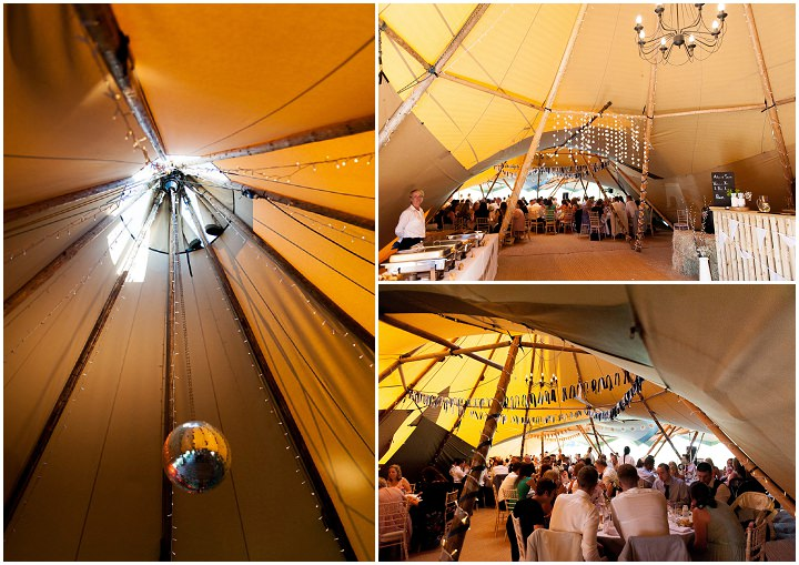 Music Themed Sunny Tipi Wedding in Hertfordshire by CO Photography & Design