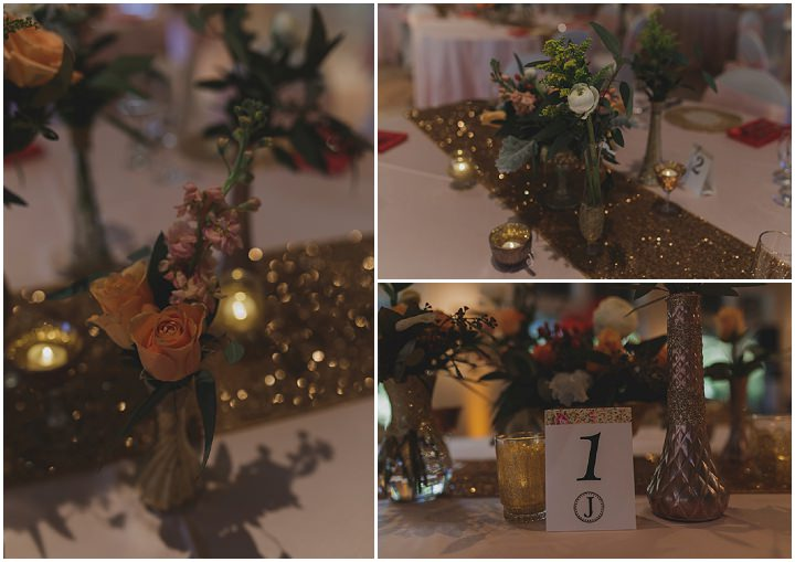 Nicholas and Yoko's Vintage Inspired Blush and Gold Florida Wedding by Stacy Paul Photography