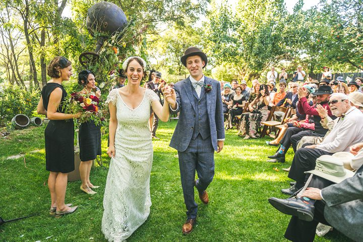 Vaudeville Themed Eclectic Colorado Wedding by Photogenic Lab