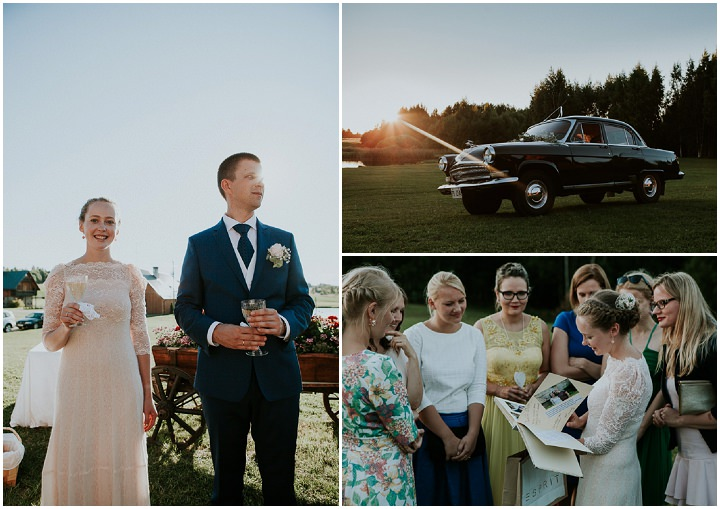 Liisa and Enar's Baby's Breath and Roses Estonian Wedding by Timo Ilves