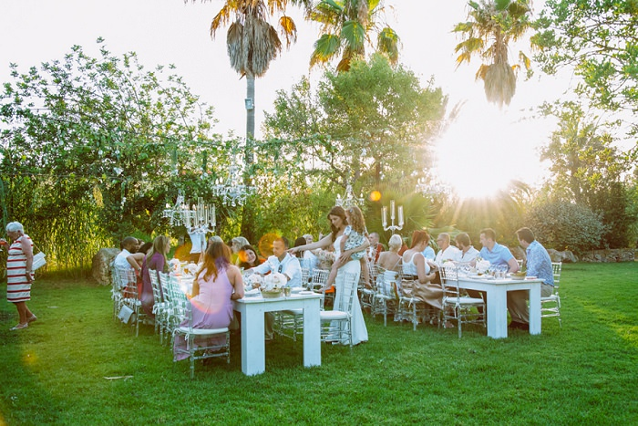 Super Glam Flower Filled Wedding in Ibiza by Marnosuite