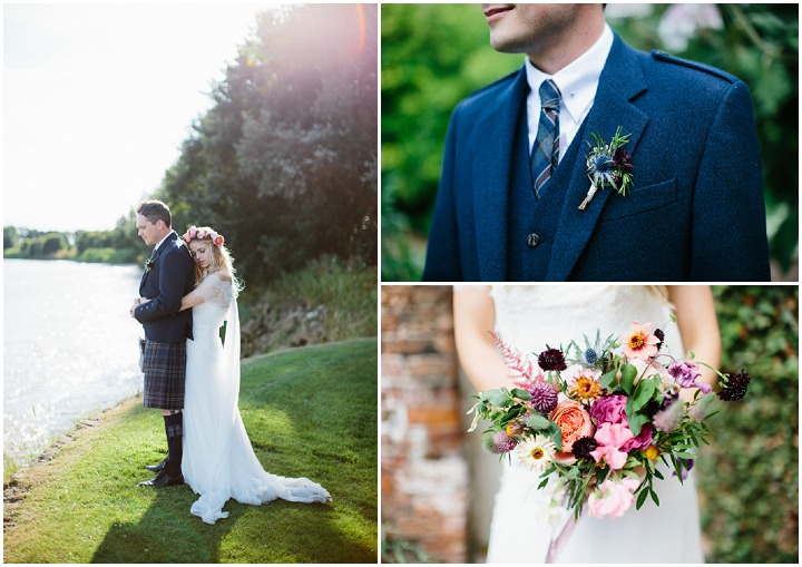 Beautiful Bohemian Outdoor Tipi Wedding by Melissa Beattie