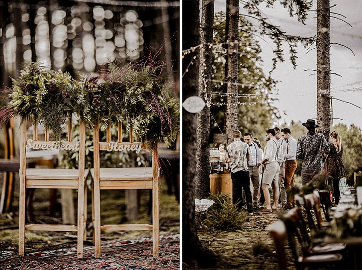 Intimate Bohemian Woodland Wedding by Elena Engels Fotografie