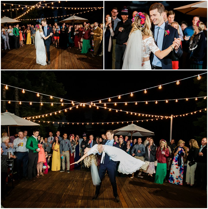 Summer Camp Wedding in California by Chris Werner Photography